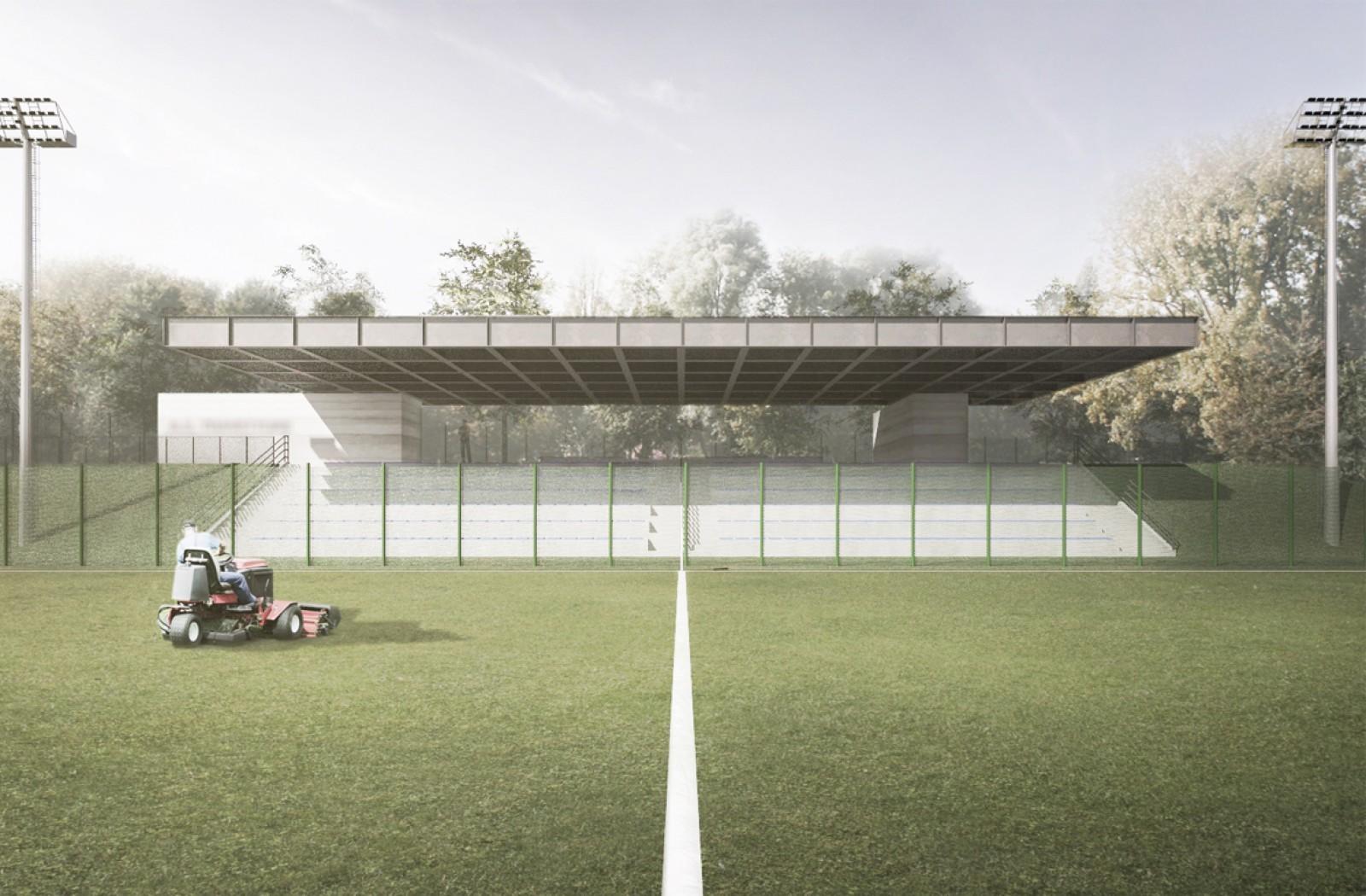 New Municipal Stadium Shelter