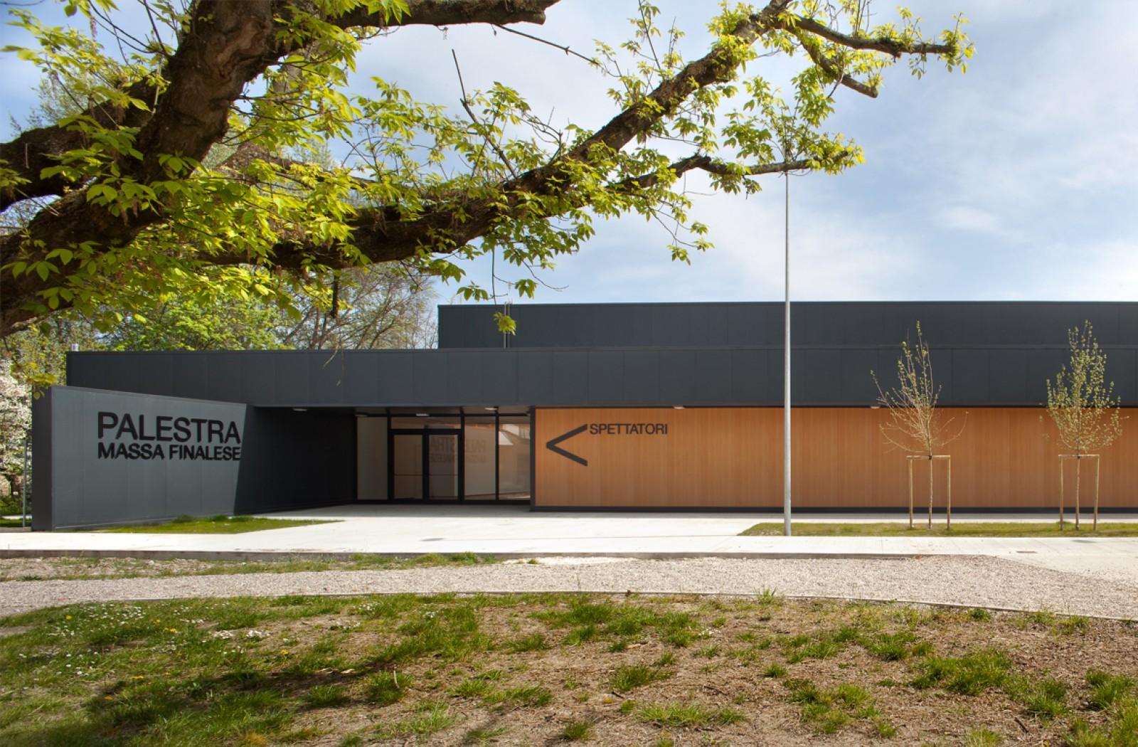 Temporary School Gymnasium